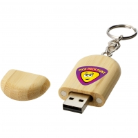 Oval fa pendrive